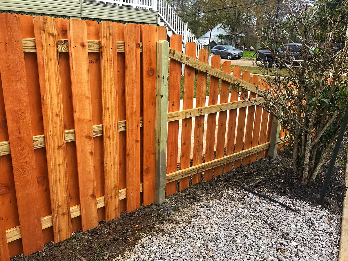 We're one of the highest rated fencing contractors on the northshore. Proudly building fences in Mandeville, Covington, Madisonville, Slidell, Lacombe, Robert, Hammond, and Ponchatoula. Get an online instant fence quote online.