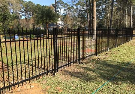 Aluminum Fence In Mandeville | Mandeville Fence Company