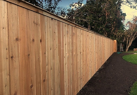 Western Red Cedar Privacy Fence | Mandeville Fence Company