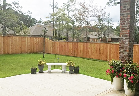 Best Wood Privacy Fence in Lacombe