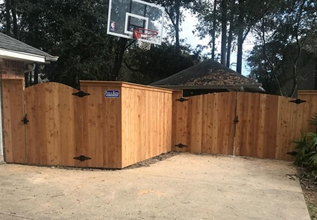 Cedar Privacy Fence in Lacombe La